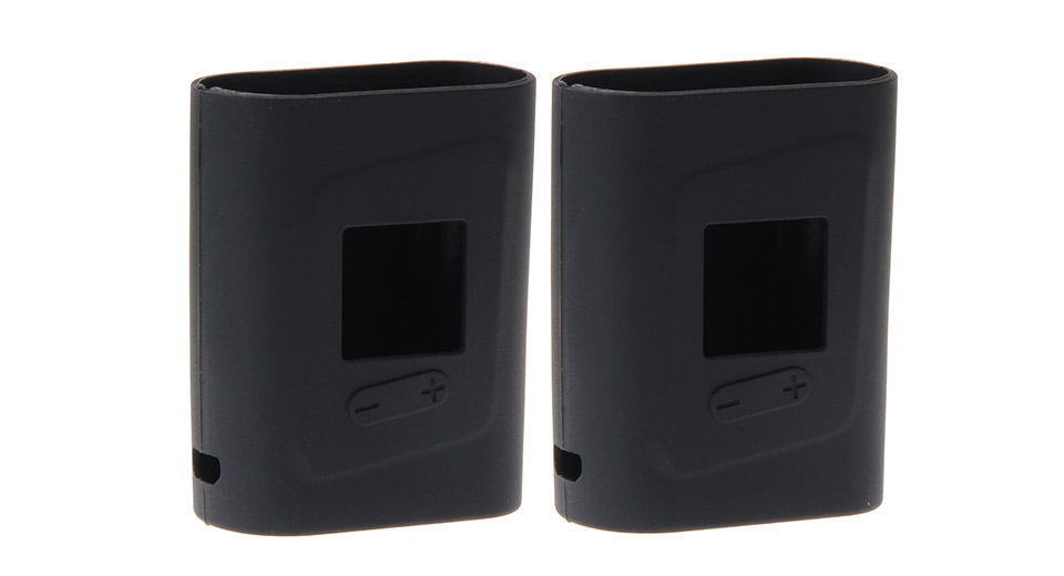 Amusing Protective Silicone Sleeve Case for SMOK AL85 85W Mod (2-Pack) SMOK AL85 85W, Black, 2-Pack