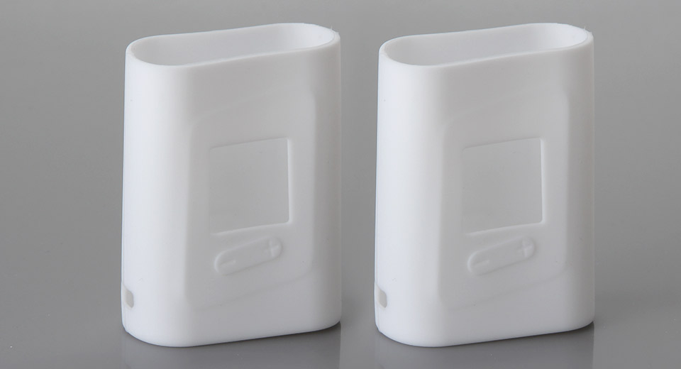 Amusing Protective Silicone Sleeve Case for SMOK AL85 85W Mod (2-Pack) SMOK AL85 85W, White, 2-Pack