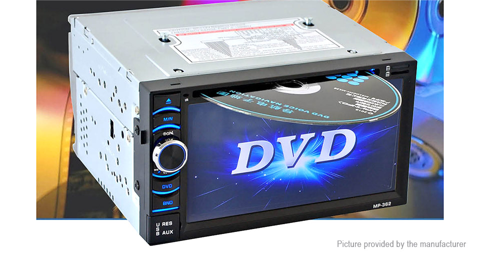 """6.2"""" TFT Touch Screen Car DVD Player"""