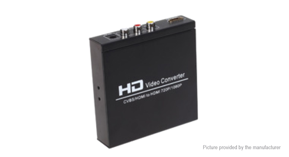 1080P AV+HDMI to HDMI Video Converter Adapter (AU )