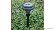 Garden Solar Power LED Mosquito Killer Lamp Yard Waterproof Lawn Light