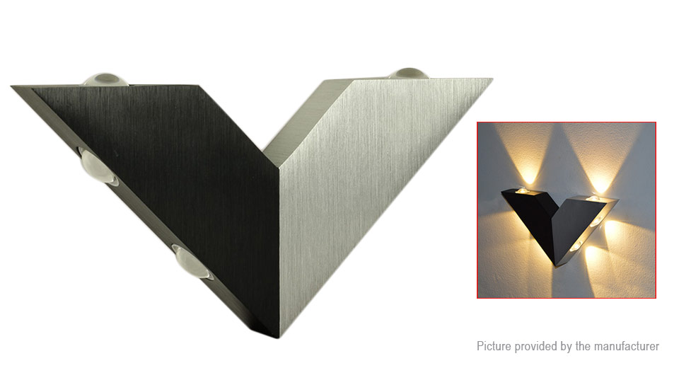 Triangle Styled LED Wall Light Night Lamp