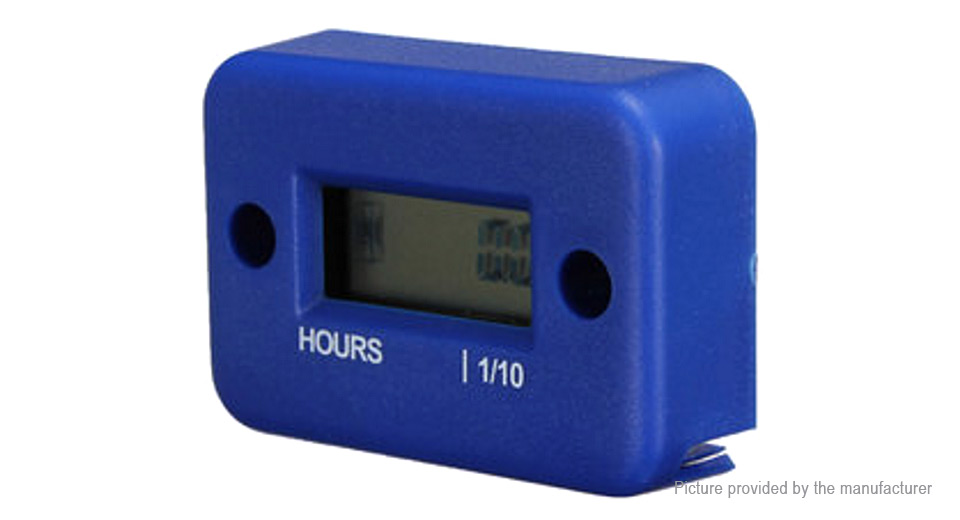 Digital Hour Meter Gauge for Motorcycle ATV Marine Boat