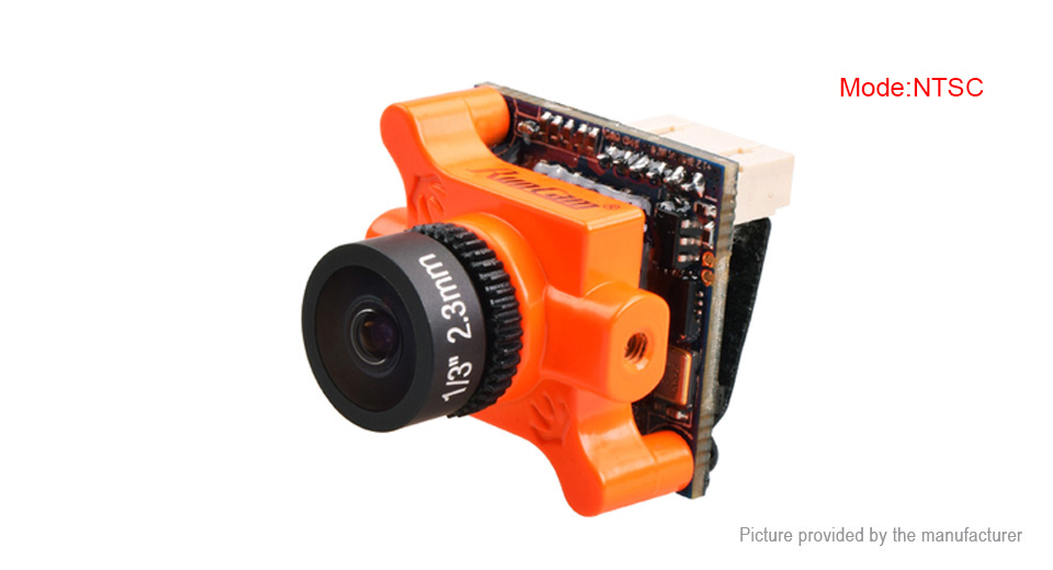 Authentic RunCam Micro Swift 2 FPV Camera R/C Models (NTSC, 2.3mm Lens) Micro Swift 2 (NTSC, 2.3mm Lens), Orange