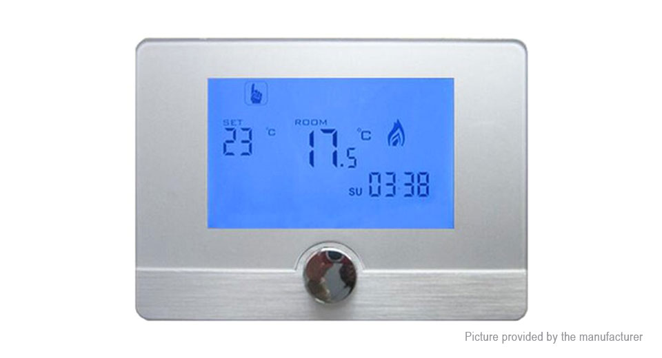 HY04BW Programmable Digital Room Thermostat Thermoregulator