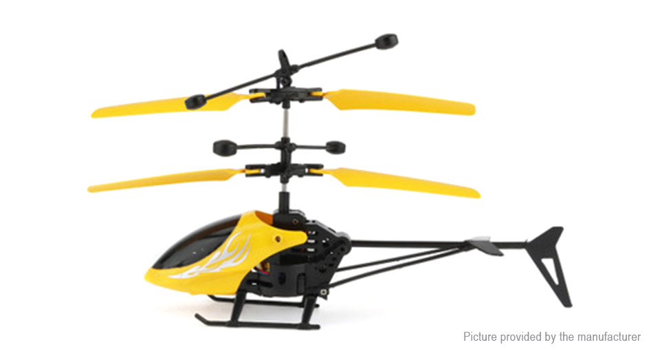 Hand Induction Infrared R/C Helicopter Flying Toy