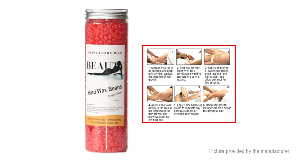 Depilatory Body Hair Epilation Removal Solid Wax Beans (400g)