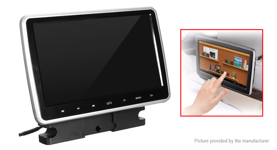 "Image of 10.1"" LCD Touch Screen Car DVD Player"