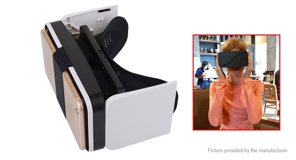 Portable Folding 3D Virtual Reality VR Headset 3D Goggles