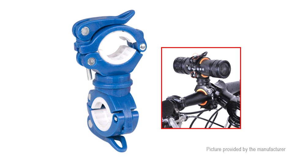 Q001 Mountain Bicycle Mount Holder Clamp for LED Flashlight