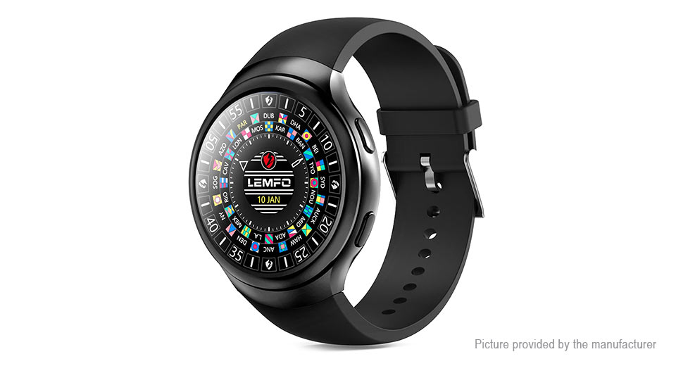 LEMFO LES2 1.3 IPS Touch Screen 3G Smart Watch Phone