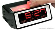 Buy Multi-functional Digital Alarm Clock Thermometer Black