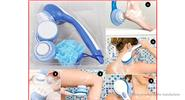 Long-handle 5-in-1 Electric Bath Spin SPA Massage Shower Cleaning Brush
