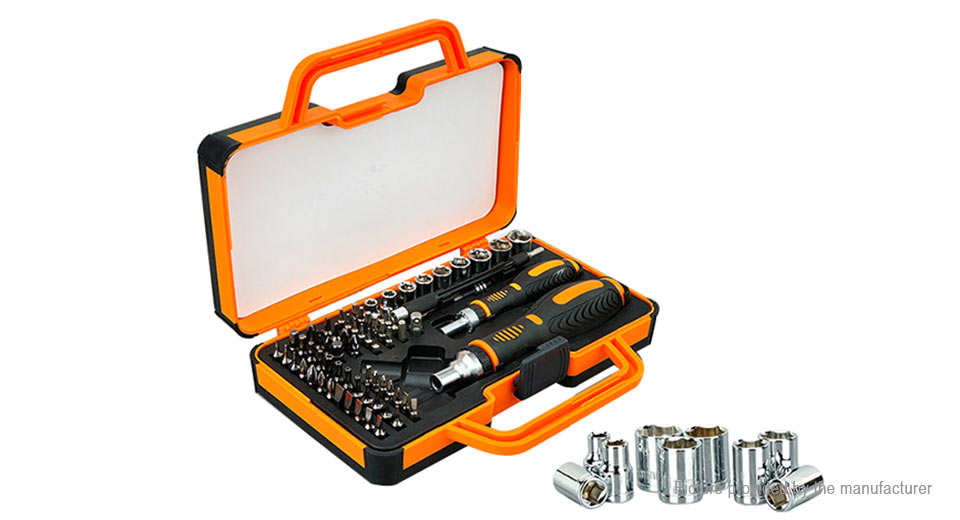 DIY Electronics 8591900 JAKEMY JM-6112 Multi-Bit Screwdriver Kit (69 Pieces)