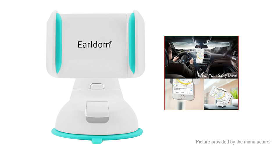 Earldom Car Dashboard Mount Suction Cell Phone Holder Stand