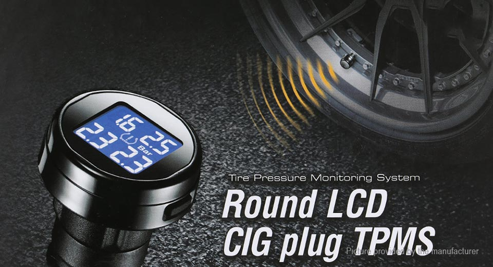 Car TPMS External Tire Pressure ...