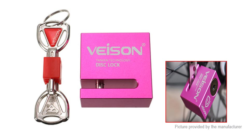 VEISON DX4 Motorcycle Bicycle Disc Security Lock Alarm