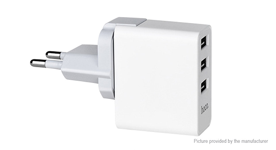Product Image: authentic-hoco-c20-3-port-usb-wall-charger-power