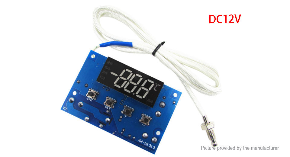 DIY Electronics 8721501 XH-W1313 K Type Thermocouple High Temperature Controller Board