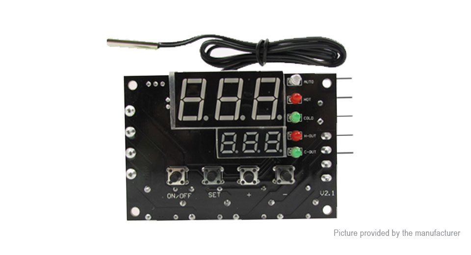 DIY Electronics 8722500 XH-W1504 TEC Semiconductor Cooler Thermostat Automatic Temperature Controller Board