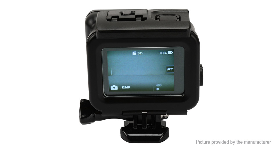 SHOOT Waterproof Protective Housing Case for GoPro HERO5 Black XTGP377A, Black, GoPro HERO5 Black