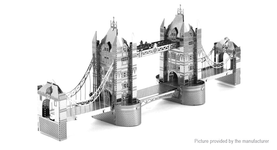 London Bridge Styled 3D Puzzle Educational Toy for Children