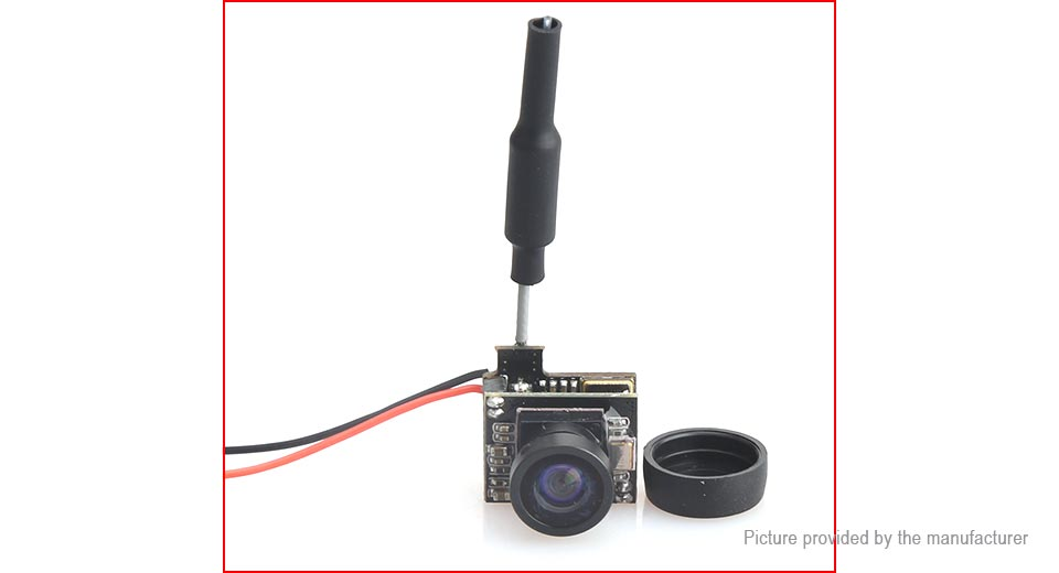 Image of 5.8GHz 48CH 25mW 800TVL Mini FPV Camera