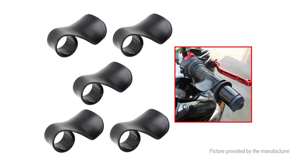 Motorcycle Cruise Assist Control Handlebar Grip (5-Pack)