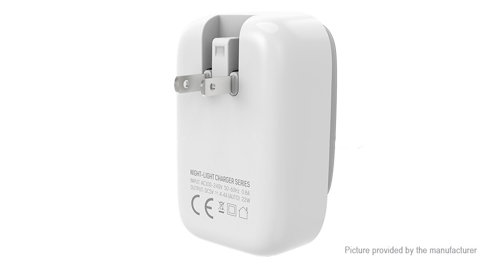 LDNIO A4405 4-Port USB Travel Wall Charger Power Adapter (US)