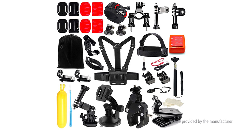 Image of 45-in-1 Universal Camera Accessory Kit for GoPro