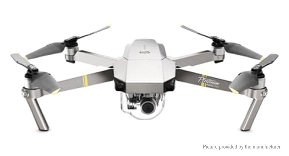 Image of Authentic DJI Mavic Pro Platinum Foldable R/C Quadcopter (2.4GHz FPV, 4K)