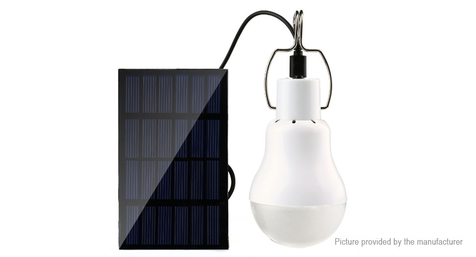 Image of H4545 Outdoor Solar Powered LED Camping Lantern Emergency Lamp