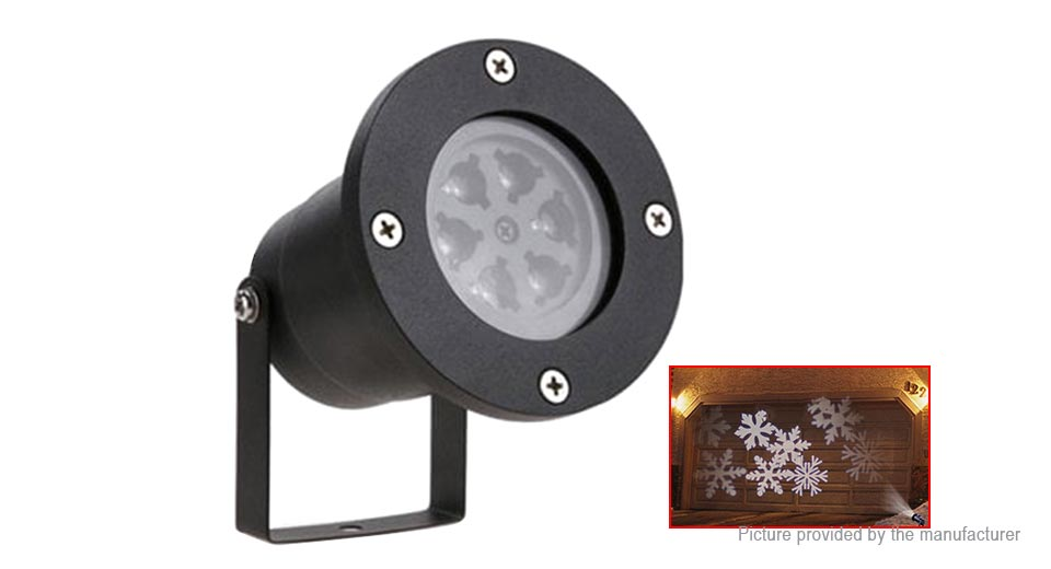 Outdoor LED Stage Light Laser Snowflake Projector Lamp (US)