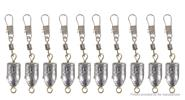 Buy 10G Fishing Rolling Swivel Connector + Snap (10-Pack), 10G, 10-Pack for $4.06 in Fasttech store