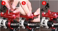 GUB G88 Bicycle Handlebar Mount Holder Bracket for Cell Phone / Sports Camera