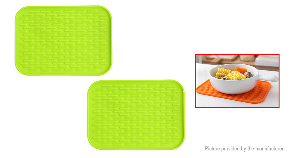 Coaster Cup Mat Kitchen Cafe Table Placemat (2-Pack)