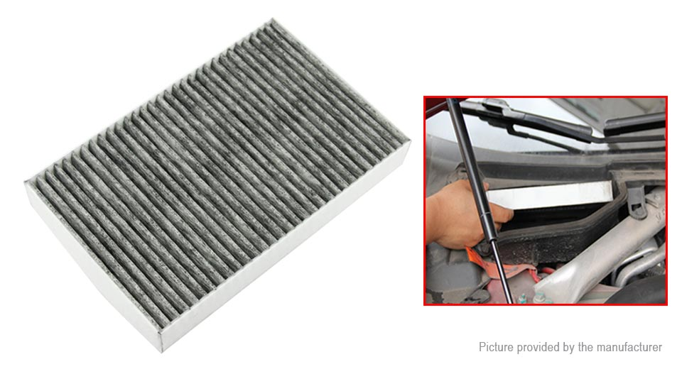 Car Air conditioning Filter for Tesla Model S / Model X 2015 2016 2017