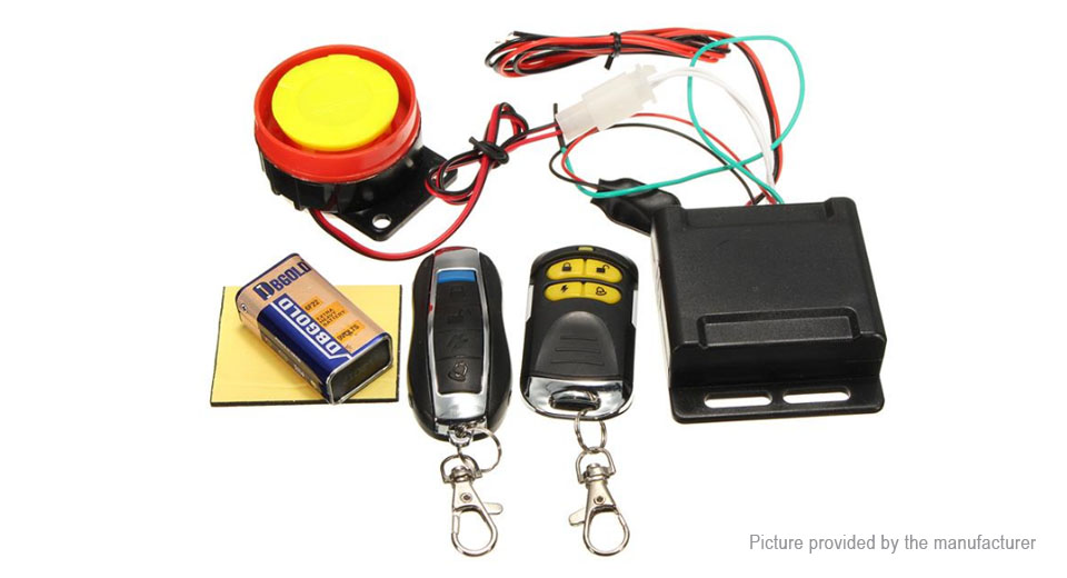 Anti-Theft Mobicycle Secutiry Alarm Horn Kits