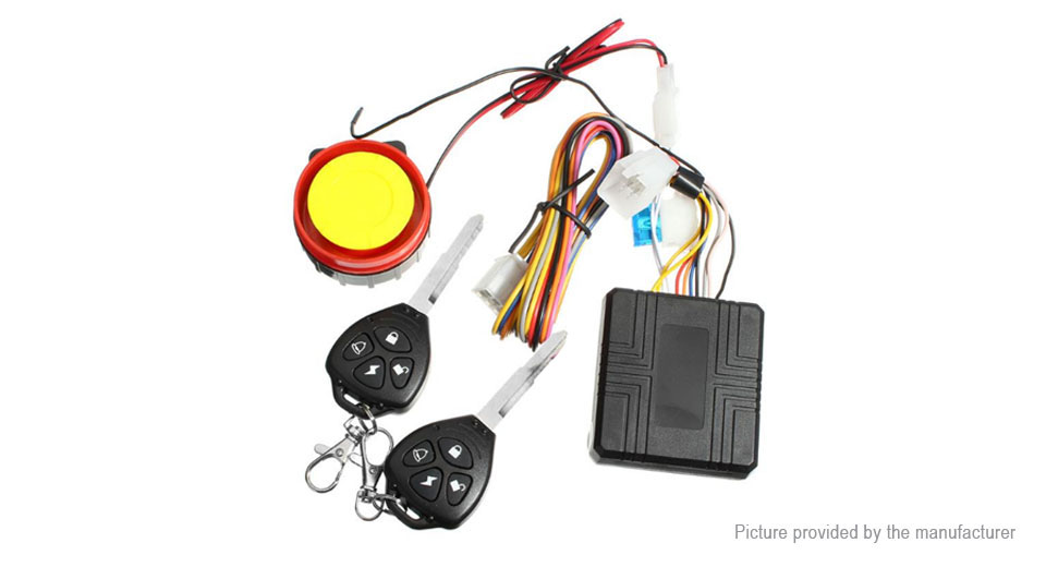 Anti-Theft Security Motorcycle Alarm Kits