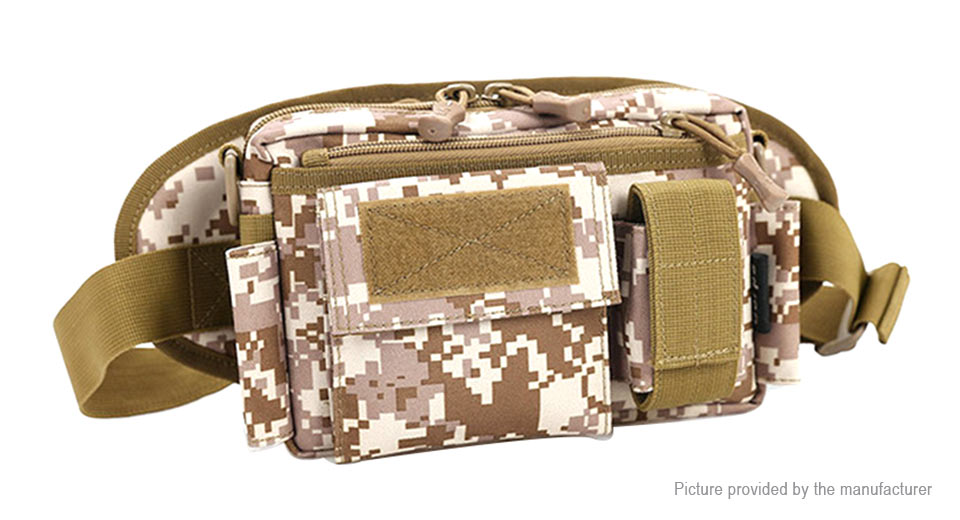 Image of Multipurpose Tactical Waist Bag for Outdoor Camping Hiking