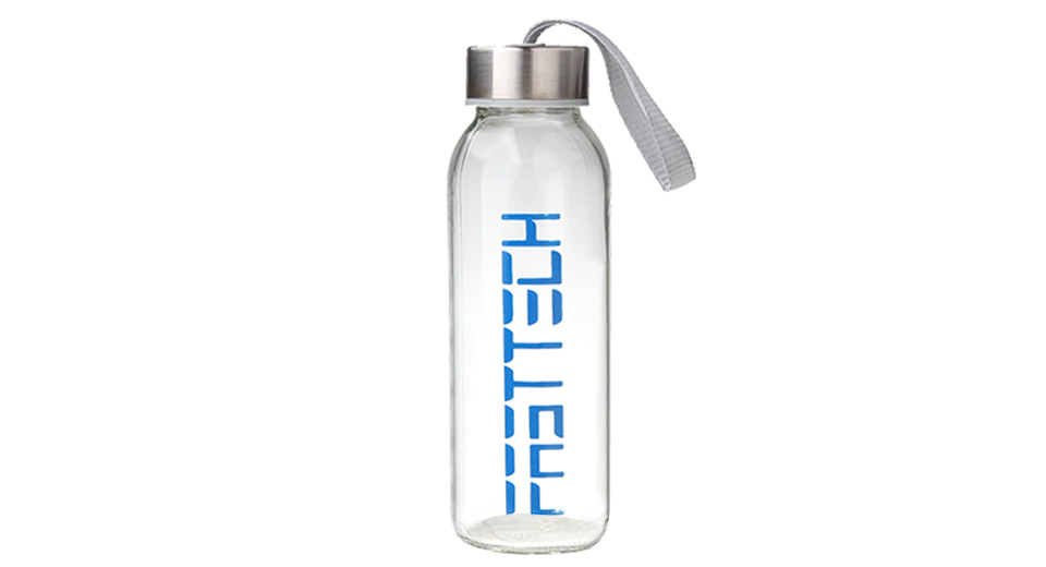 Image of FASTTECH Creative Translucent Glass Water Bottle (300ml)