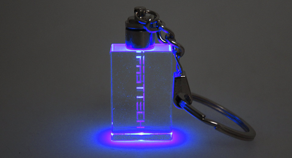 Image of FASTTECH Blue Light Crystal Key Chain