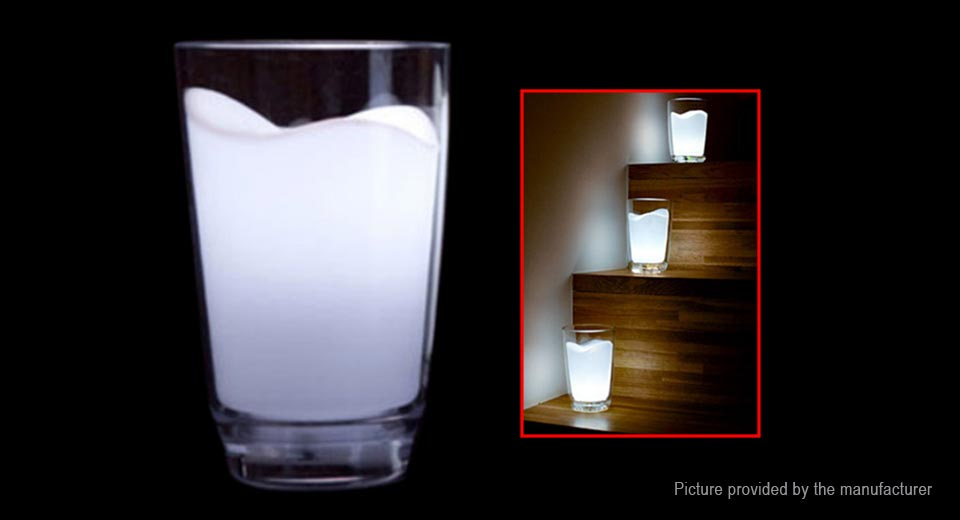 Modern Milk Glass Cup LED Night Light