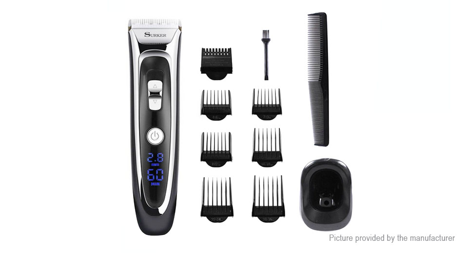 Surker Rechargeable Electric Hair Clipper Trimmer