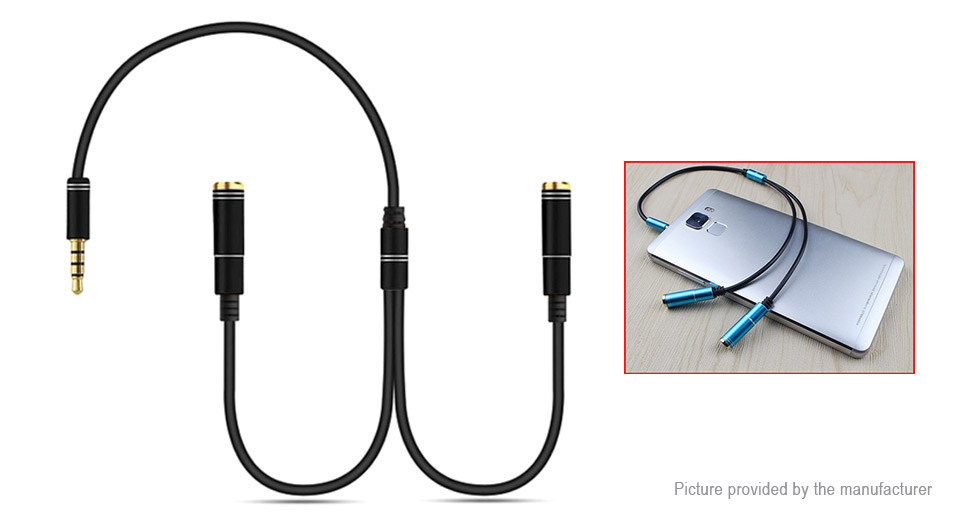 Product Image: songful-m2-1-to-2-3-5mm-audio-splitter-adapter