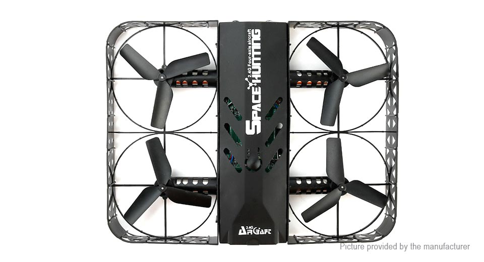 2.4GHz / 4CH / 4-axis gyro / one key rollover / 360 degree free flip / headless mode / one key return / altitude hold / steady hover #drone