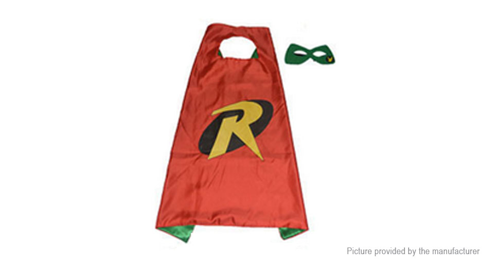 Halloween Party Superhero Dress Up Cosplay Costumes Capes