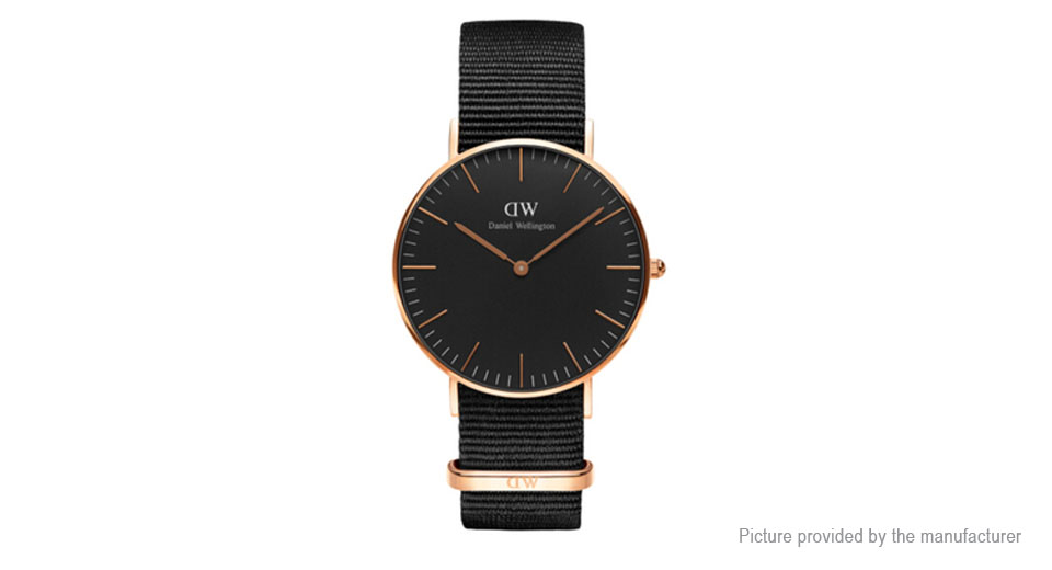 Daniel Wellington Women's Nylon Band ...