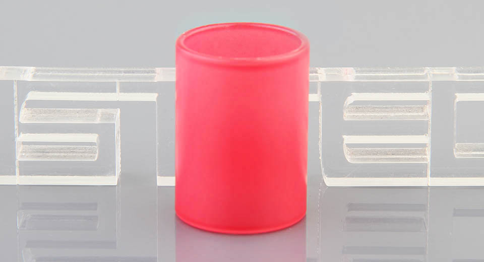 Vapesoon Replacement Glass Tank for KangerTech Subtank Mini Clearomizer Subtank Mini, Glass, Red, Color Changing
