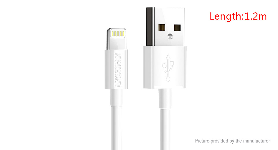 Product Image: choetech-8-pin-to-usb-2-0-data-sync-charging